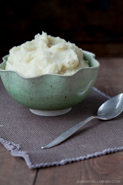 Buttery Thyme Parsnip and Turnip Puree by Against All Grain (SCD, Paleo, Gluten-Free)