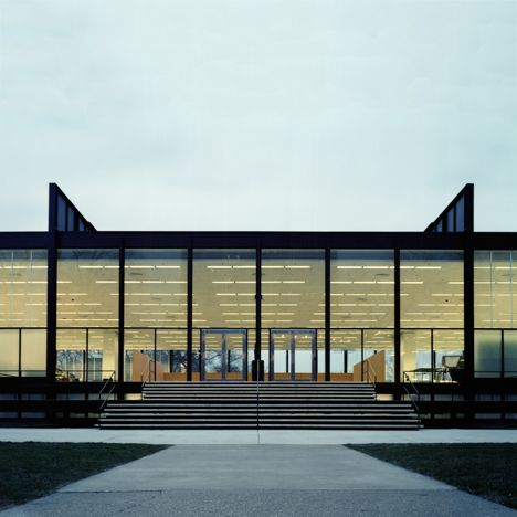 The 10 projects that sum up Chicago's architectural history: S R Crown Hall at IIT, 1956, by Mies van der Rohe