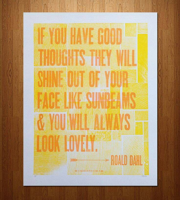 Roald Dahl. A true genius.