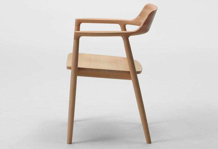 Hiroshima armchair wood