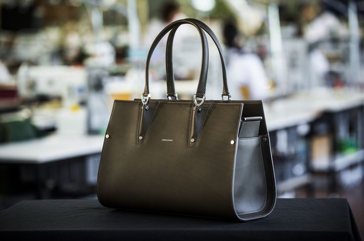 The Paris Premier collection is a symbol of Longchamp craftsmanship and expertise. The exquisitely crafted handbag is made of the finest calfskin with artisan detailing. #LongchampParisPremier #ParisPremierBag