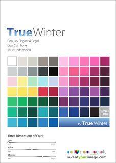 True Winter Palette