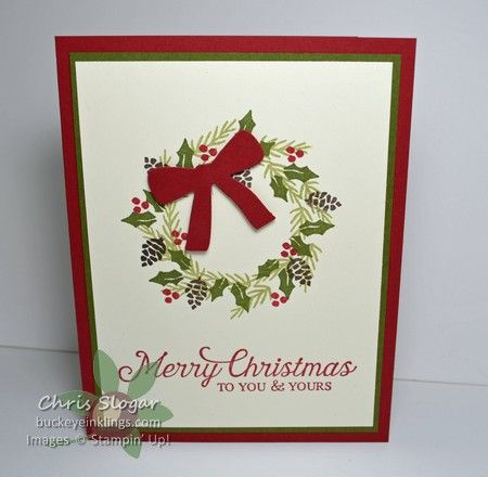 Stampin' Up! Berry Merry and Six Sayings