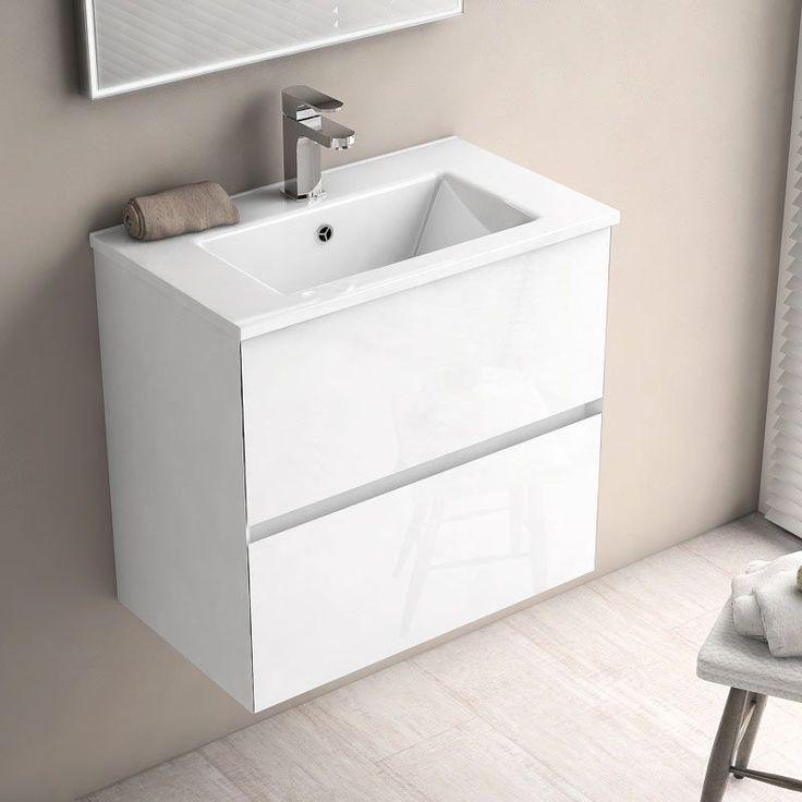 Les Meilleures Idées De La Catégorie Meuble Faible Profondeur - Meuble salle de bain profondeur 60 cm