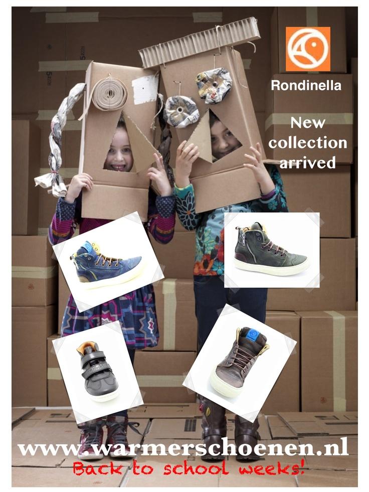 Rondinella kinderschoenen bij www.warmerschoenen.nl