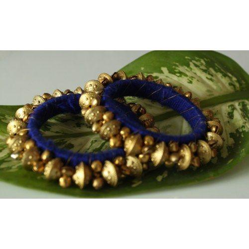 Designer Ethnic Rajasthani  Kada / Churi / Bangles / Bracelet with Thread