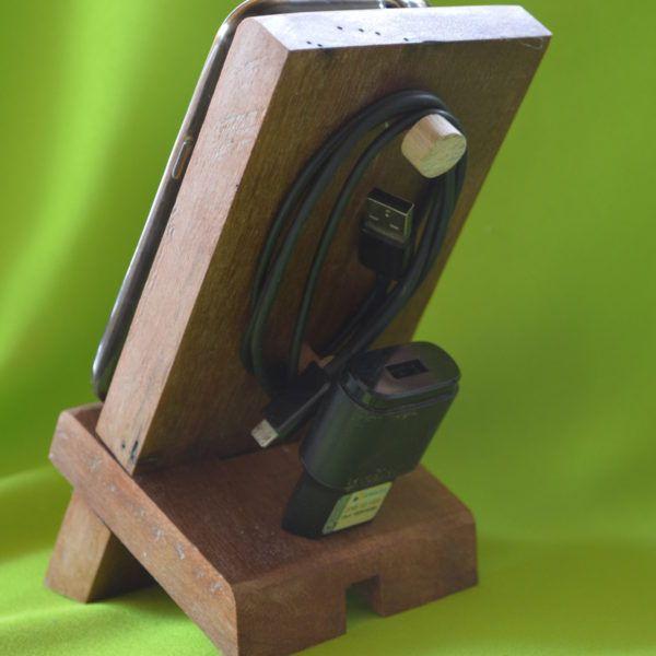 Suporte de madeira para celular SMC00001 - 02