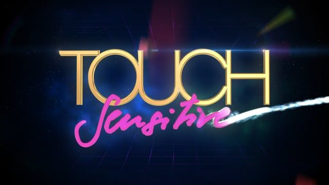 80's style animated Ident for Touch Sensitive.