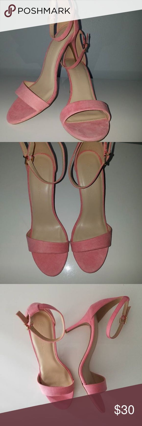 Coral sandals Brand new never worn they are coral but there was no option for coral Madden Girl Shoes Sandals