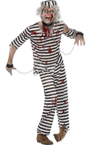 Zombie Prisoner Costume | Jokers Masquerade