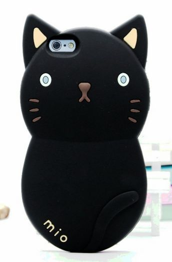 """Cute Lovely 3D Cartoon Animal Cat Soft Silicone Back Cover Case For iphone 6 / 6s 6s plus """" FREE SHIPPING """""""
