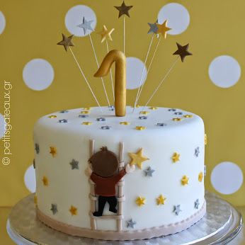 Reaching for the stars! Chocolate cake with chocolate cheese frosting!