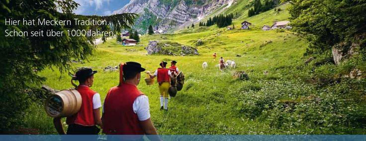 Säntis - the highest mountain in the Alpstein