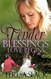 Free Kindle Book -   Love Begins: A Contemporary Christian Romance Novel (Tender Blessings Book 1)