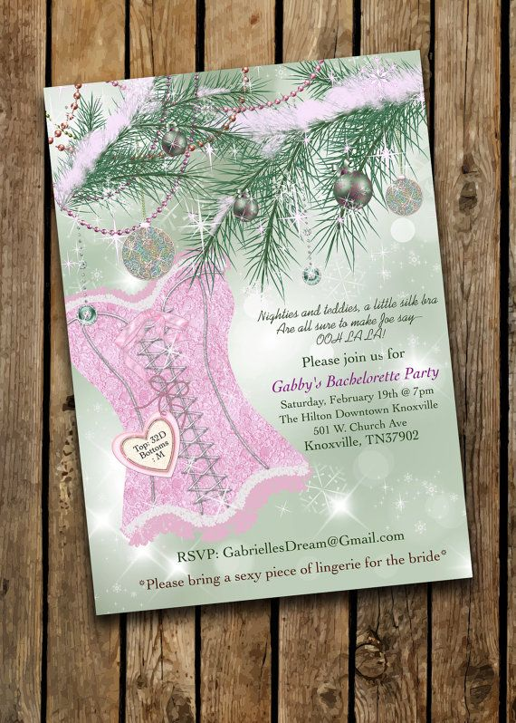 39 best party invitations images on pinterest costco for Winter bachelorette party ideas
