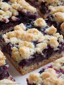 Shopgirl: Blueberry Crumb Bars-- maybe like Starbucks blueberry bars?