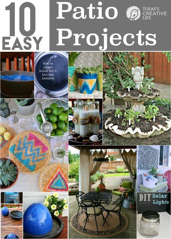 10 DIY Patio Projects 658 best gardening