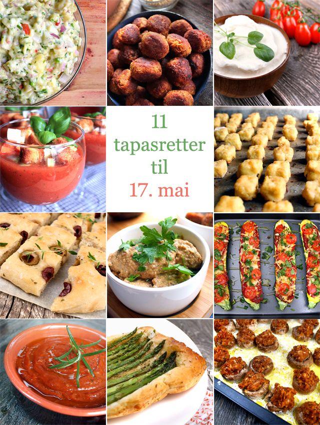 Oppskrift Kjøttfri Tapas Vegetartapas Veganske Tapasretter Til 17. Mai