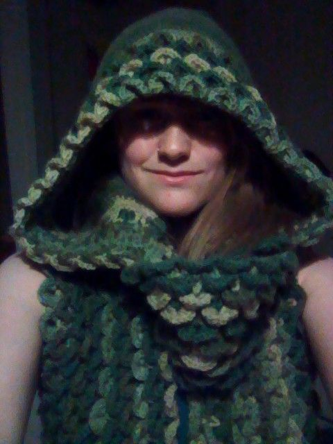 Chainmail Hood Knitting Pattern : 69 best images about Crochet Stuff on Pinterest ...