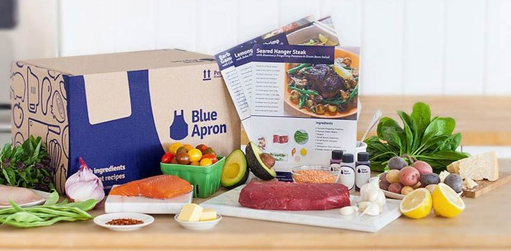 "Recipe: Hanger Steak with ""Creamed"" Spinach & Lemon-Butter Purple Potatoes - Blue Apron"