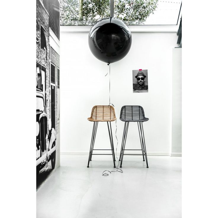 Rattan Barstool • WOO Design