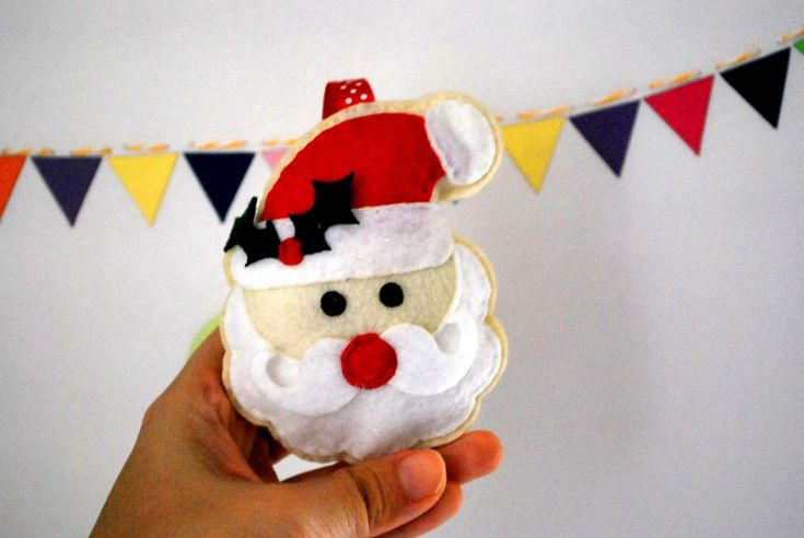 DIY Santa Claus Sewing Pattern - PDF EPATTERN , Christmas Ornament Instant Download A871 on Luulla