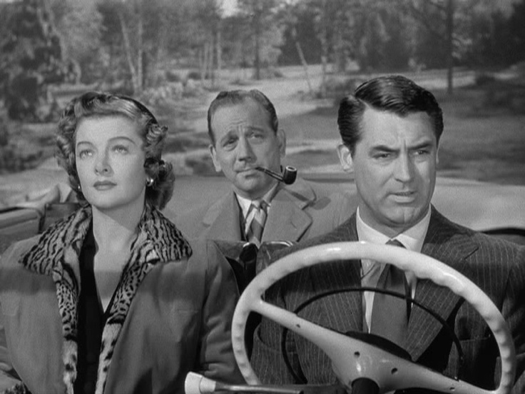 """""""Mr. Blandings Builds His Dream House"""" (1948) starring Cary Grant, Myrna Loy and Melvin Douglas"""