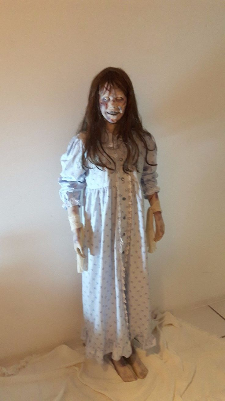 The exorcist movie full size regan prop 1/1 | Halloween ...