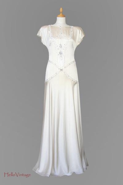 Vintage Brautkleider 20er Jahre kss die braut