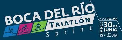 """""""Triatlón Sprint Boca del Río 2013""""  Domingo 30 de junio de 2013  Sprint (750 m, de natación, 20km bicicleta y 5k de carrera)    http://www.natacionenlinea.com/files/tri%20boca.pdf"""