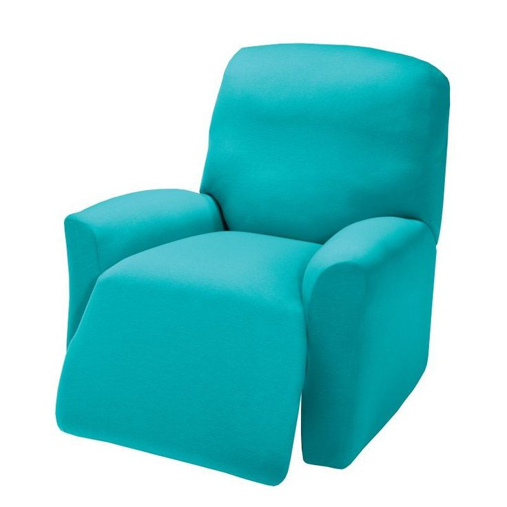 Madison Industries Solid Jersey Recliner Cover Aqua - JER-LGRECL-AQ-H  sc 1 st  Pinterest & Best 25+ Recliner cover ideas on Pinterest | How to reupholster ... islam-shia.org