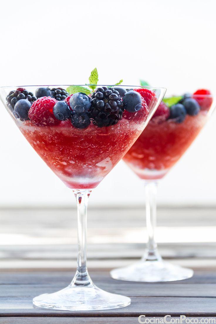 Granizado de Sandia y Frutos rojos