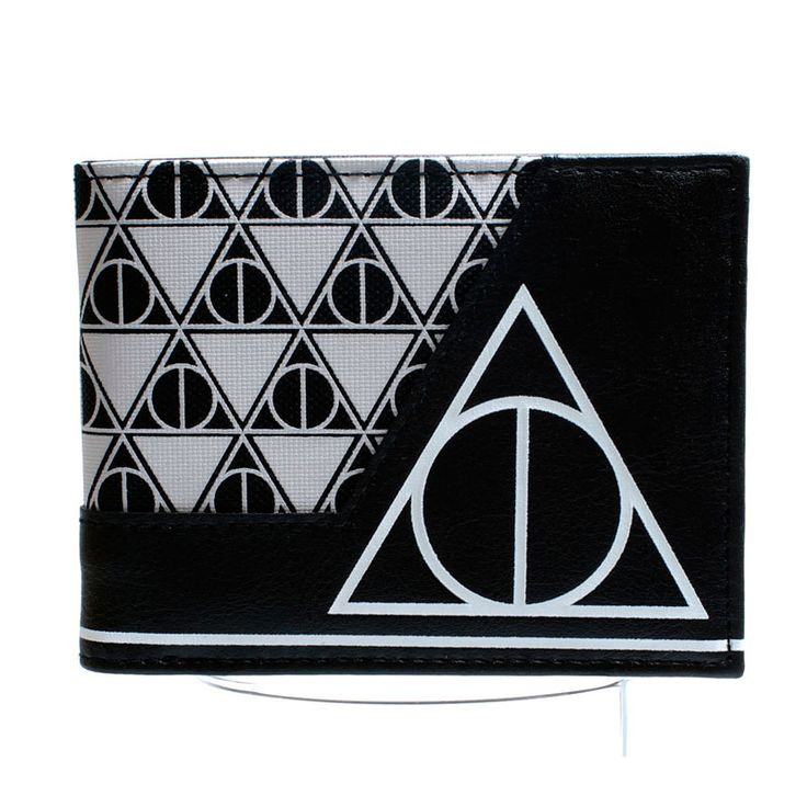 The unique Wallet Deathly hallows Harry Potter Symbol Merch Loot  -