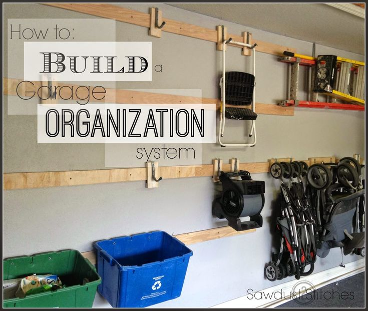 Garage Organization Shelving: Cheap And Easy DIY Garage Storage .