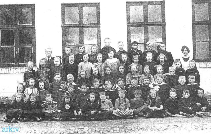 arkiv.dk | Skolebillede Hæstrup Skole