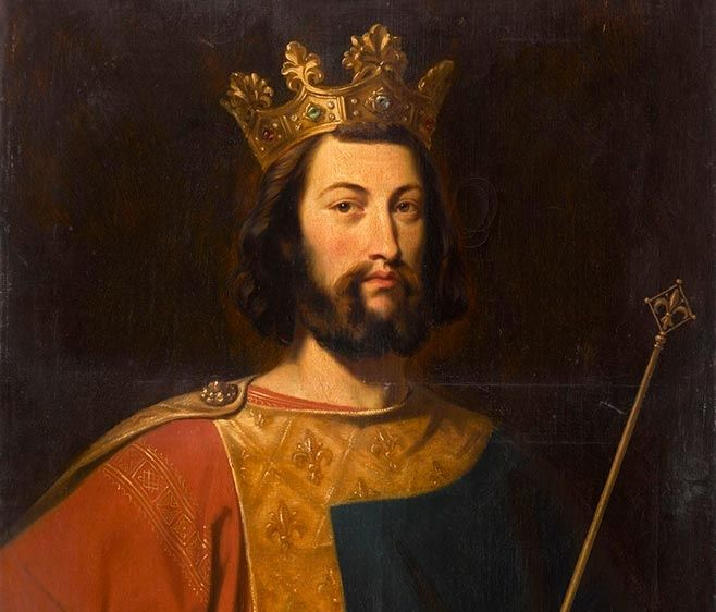 Louis VII le Jeune (1120 - 18/09/1180 Paris) - Fils de Louis VI le Gros - Dynastie des Capétiens