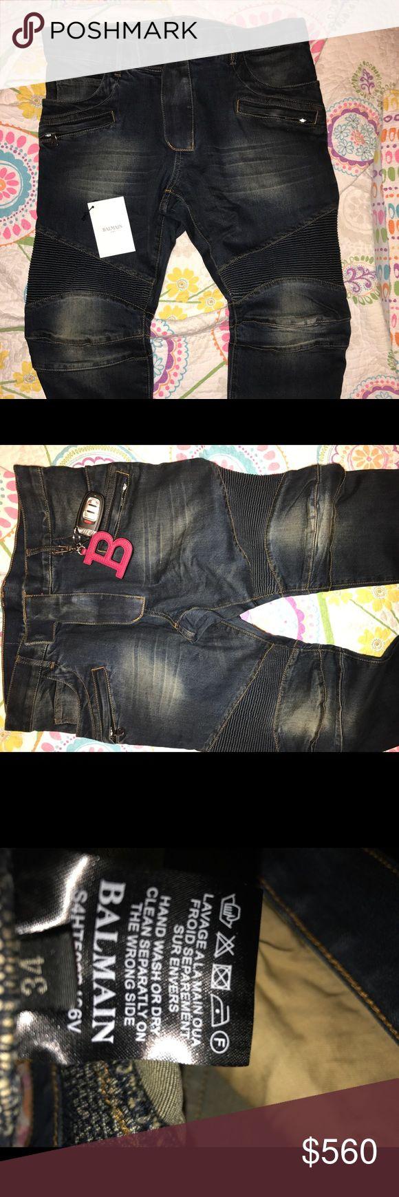 Men Balmain Jeans Men Balmain Jeans SLIM SKINNY Balmain Jeans Slim