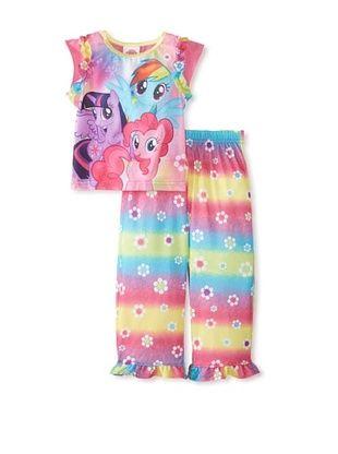 60% OFF My Little Pony Girl's 2-Piece Pajama Set (Lilac)