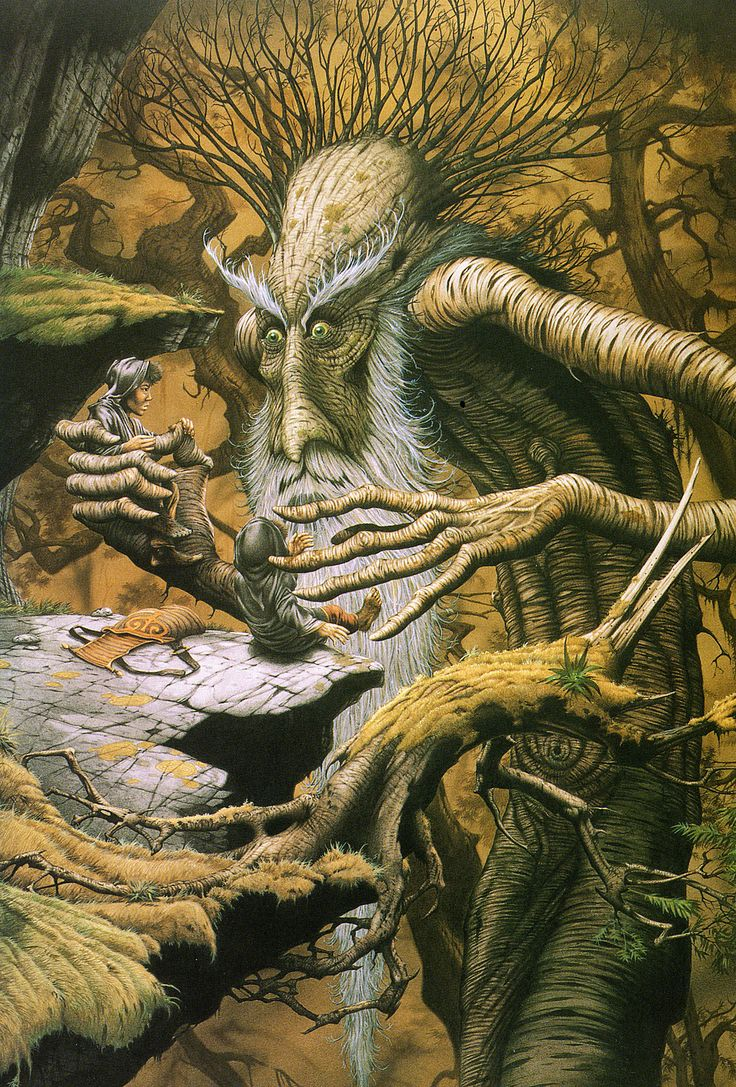 Rodney Matthews The Lord of the Rings: Treebeard