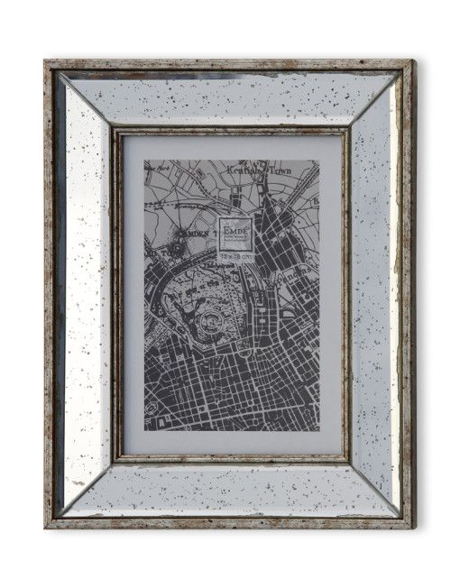 cadre emde miroir piqu entier comptoir de cadres