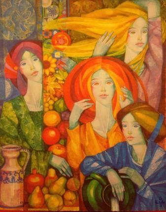 Gabriel Portolés - Las cuatro estaciones - Galería Salduba