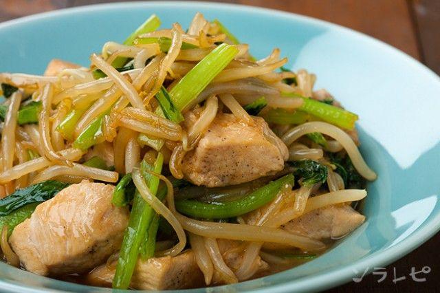鶏肉ともやしのの中華炒め_main1