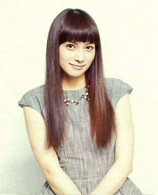 Kou Shibasaki (Japanese actress) in Yu Yu West 2013.
