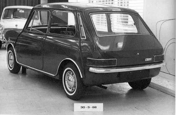 Mini Clubman prototype