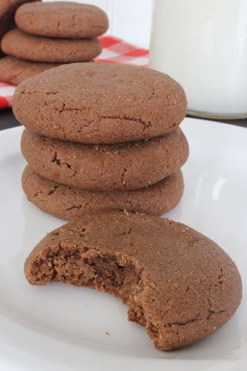4 ingredient Chocolate Peanut butter Cookies!  I've tried these cookies before, they are completely irresistible and ridiculously easy!!!