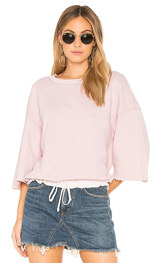 Shop for Stateside French Terry Sweatshirt in Peach at REVOLVE. Free 2-3 day shipping and returns, 30 day price match guarantee.