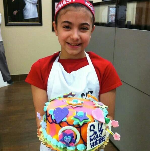 Cake Boss- Sofia Valastro is following in her Dad's footsteps! Photo credit Buddy Valastro on Instagram.
