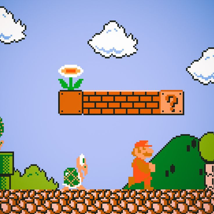 play super mario brothers online for free!