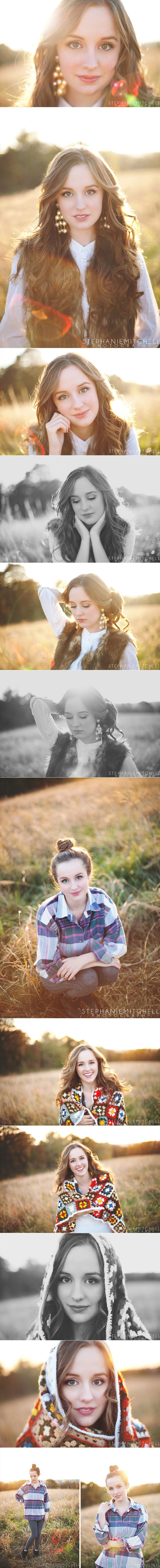 @Leslie Williams - senior photography inspiration  I really like the innocence of most of these. Really pretty.