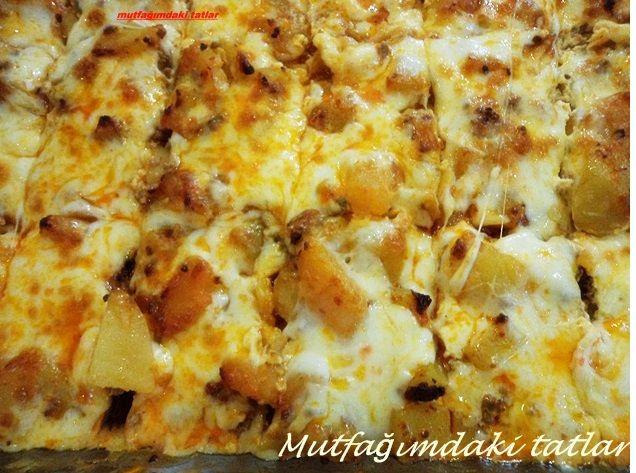 FIRINDA KIYMALI PATATES YEMEĞİ (Bulgar Musakkası) | Mutfak ve Tatlar